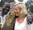 V after pen church with civic education beneficiary Southern Sudan