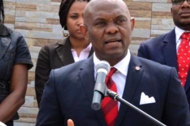 Tony Elumelu går efter en dobbelt bundlinje, hvor det både handler opnå socialøkonomiske mål og tjene penge. Foto: Tony Elumelu Foundation