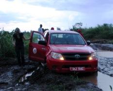VQ bil stuck
